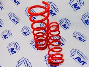 Задние пружины Технорессор для а/м ВАЗ 2108-2115, 2110-12, Приора, Калина, Гранта (-30 мм)