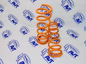 Задние пружины Технорессор для а/м ВАЗ 2108-2115, 2110-12, Приора, Калина, Гранта (-50 мм)