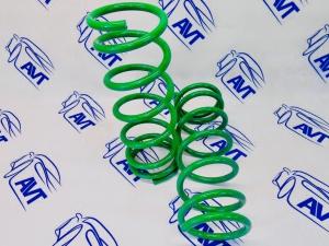 Задние пружины Технорессор для а/м ВАЗ 2108-2115, 2110-12, Приора, Калина, Гранта (-70 мм)