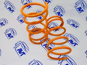 Передние пружины Технорессор для а/м ВАЗ 2108-2115, 2110-12 (-50 мм)