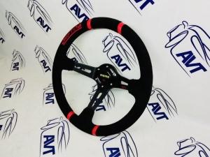 Руль Momo Drifting, с выносом (кожа)