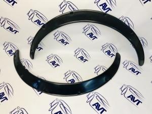Расширители арок (фендеры) универсальные, 50 мм, комплект 2 штуки (глянец)
