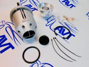 Клапан сброса давления (Blow off) HKS SSQV III style серебристый
