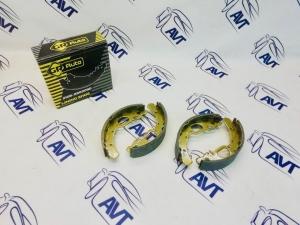 Колодки тормозные задние 2110-12, Калина, Приора, Гранта под АБС (GR Auto)