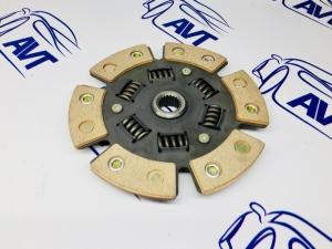 Диск сцепления для а/м ВАЗ 2110-12 металлокерамический с демпфером (6 лепестков) 200мм