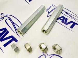 Рулевые скрутки (сгоны) цельные (140 мм) для а/м ВАЗ 2101-07