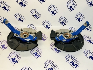 Усиленный ступичный узел в сборе с тормозными дисками для а/м Нива 4х4, Chevrolet Niva с АБС (подшипник