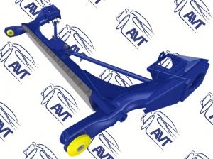 Балка задней подвески Sport-Pro R1 1118 Калина, 2190 Гранта, Калина2 c рег. жесткостью, с растяжками АВТОПРОДУКТ