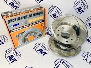 Диски передние тормозные ALNAS-SPORT 2108-03 13