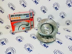Диски передние тормозные ALNAS-SPORT 11186-05 Калина-Спорт 15