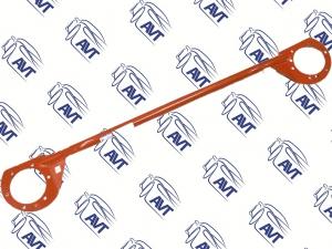 Растяжка передних стоек У 2112 (усиленая, красная)