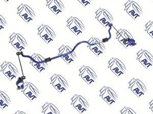 Стабилизатор поперечной устойчивости передний ШС ВАЗ 2108-15, 2110-12, 2170-72 (18 мм) Спорт , П/У