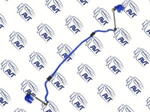 Стабилизатор поперечной устойчивости передний ШС ВАЗ 2108-15, 2110-12, 2170-72 (18 мм) Спорт , резина
