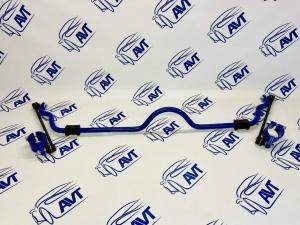 Стабилизатор поперечной устойчивости передний ШС ВАЗ 2108-15, 2110-12, 2170-72 (20 мм) Спорт , резина