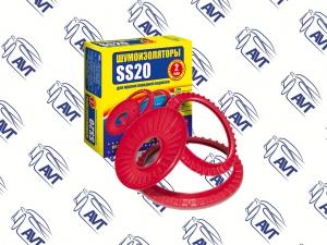 Шумоизолятор (для пружинной чашки передней подвески) 2108-2110 SS20 (2шт)