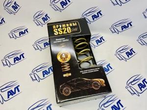 Пружины задней подвески 2108 SS20 Gold Progressive с переменным шагом (2шт)
