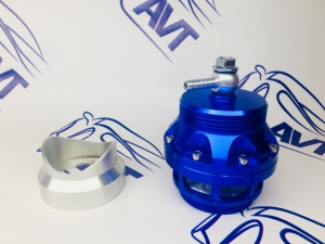Клапан сброса давления (Blow off) Tial style синий (50мм)