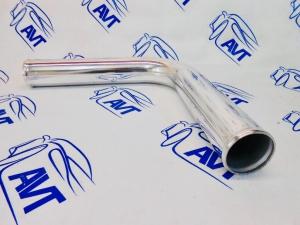 Труба алюминиевая 63мм, 90гр 300мм