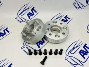 Проставки колеса 30 мм ZUZ с шпильками и гайками (2шт)