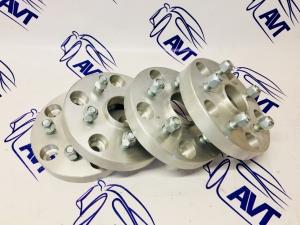 Проставки колеса ZUZ 25 мм переходные для ВАЗ 21213-14 (4 шт) 5х139,7 - 5х120