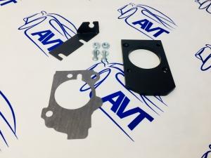 Комплект для установки механической заслонки на ресивер Е-ГАЗ 8V