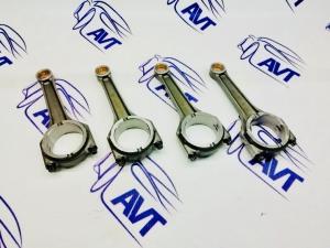 Шатуны 146 мм., (палец d-18 мм, шейка d-47,8 мм.), кованые.