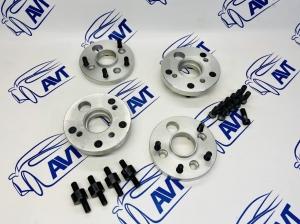 Проставки колеса ZUZ (алюминиевые) 20 мм переходные 4х98/5х114.3 (ЦО 58.6/60.1)