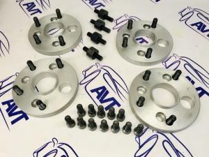 Проставки колеса ZUZ (алюминиевые) 20 мм переходные 4х98/5х120 (ЦО 58.6/72.6)
