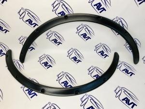 Расширители арок (фендеры) универсальные, 30 мм, комплект 2 штуки (шагрень)