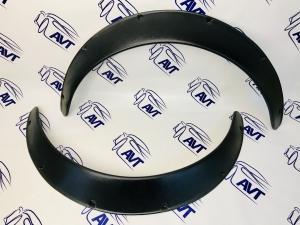 Расширители арок (фендеры) универсальные, 70 мм, комплект 2 штуки (шагрень)