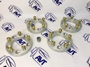 Проставки колеса ZUZ 35 мм для а/м УАЗ (4 шт)