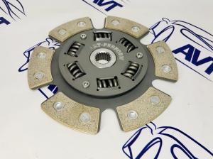 Диск сцепления Art-Perform для а/м ВАЗ 2110-12 металлокерамический с демпфером (6 лепестков) 200мм
