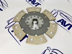 Диск сцепления Art-Perform для а/м ВАЗ 2110-12 металлокерамический без демпфера (6 лепестков) 200мм