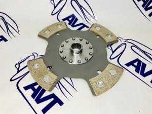Диск сцепления Art-Perform для а/м ВАЗ 21214, 2123 (Chevrolet Niva) металлокерамический без демпфера (4 лепестка) 215мм