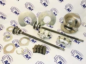 Комплект задних дисковых тормозов для а/м ВАЗ 2101-07