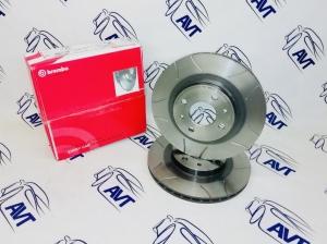 Диски передние тормозные Brembo-МАХ 2112 14