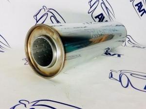 Пламегаситель прямоточный универсальный MG Race (54x100x360) 33450