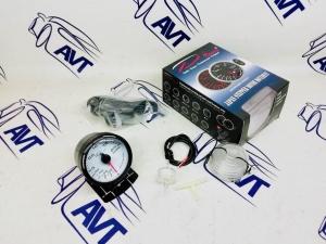 Датчик Depo 60 мм (давление наддува) серии WBL с белым экраном