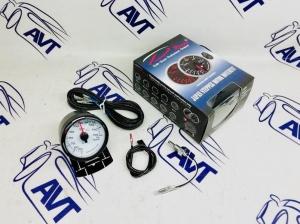 Датчик Depo 60 мм (температура масла) серии WBL с белым экраном