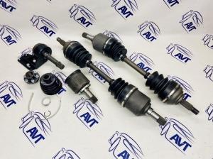 Комплект равнодлинных усиленных приводов для а/м ВАЗ 1117-19 (Калина), 2190 (Гранта) в сборе с пром. валом (Newdiffer)