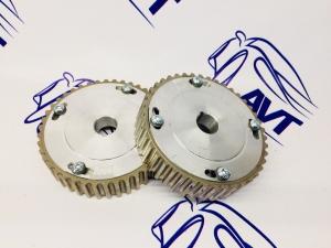 Шестерни разрезные ГРМ 16V (ал. ступица)  с маркерным диском