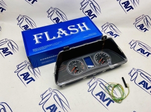 Электронная комбинация приборов FLASH-X3 для а/м ВАЗ 2110-12, 2113-15, Нива 4х4, Chevrolet Niva