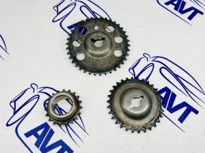 Комплект однорядных звездочек ГРМ для а/м ВАЗ 2123 (Chevrolet Niva), ВАЗ 21214 Нива 4х4 (2123-1006020-87)