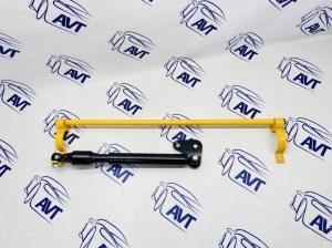 Демпфер рулевой рейки для переднеприводных а/м ВАЗ 2108-099, 2113-15 в сборе с усилителем щитка передка