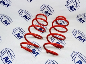 Передние пружины GT-Pro для а/м ВАЗ  Приора, Калина, Гранта (-50 мм)