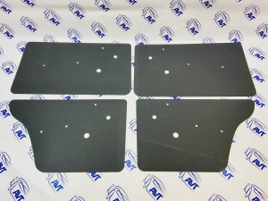 Дверные карты для а/м ВАЗ 2101-07 с отверстиями (АБС, шагрень)