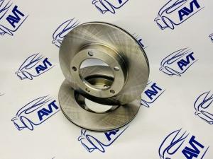 Диск тормозной передний для а/м 2121-214 Нива (вентилируемый) TORNADO (2 шт.)