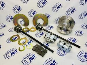 Комплект задних дисковых тормозов для а/м ВАЗ 2101-07 (диски с насечкой/перфорацией)