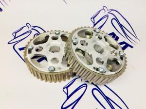 Шестерни разрезные ГРМ 16V Приора (ал. ступица) с маркерным диском СПОРТ