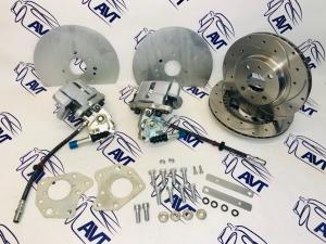 Задние дисковые тормоза 14
